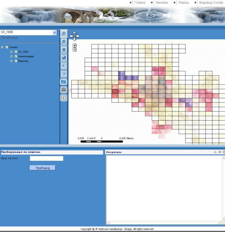 Water GIS - Raster