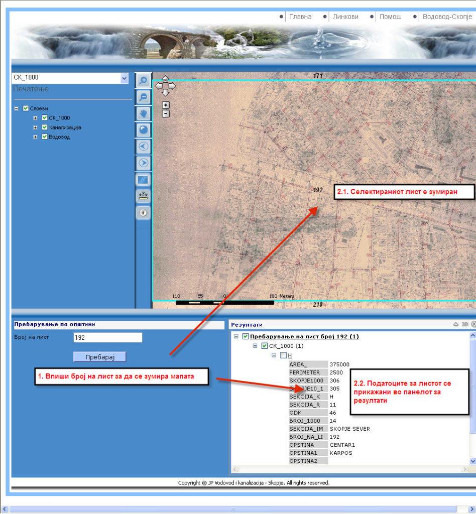 Water GIS view 6 Raster plan